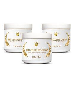 crème anti-cellulite, 3pots (12oz)