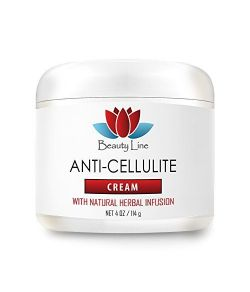Crème anti-cellulite à base d'herbes.