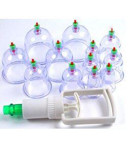 12 ventouses pour la cupping thérapie.
