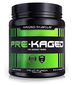 PRE-KAGED, stimulant de pré-entraînement.