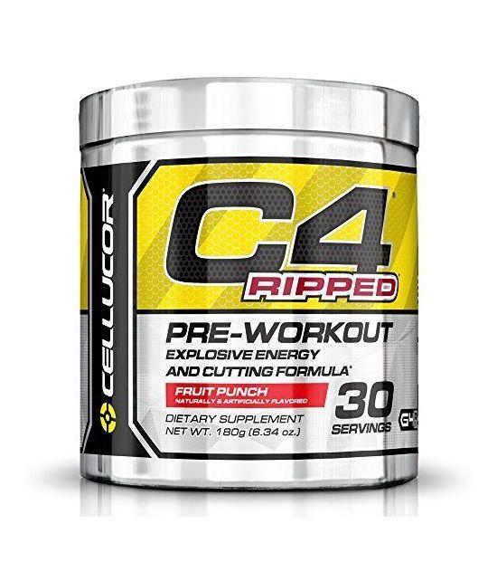 Cellucor C4 pré-entraînement brûleur de graisse.
