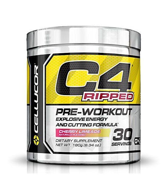 Cellucor C4 Ripped Pré-entrainement, 180 gr.