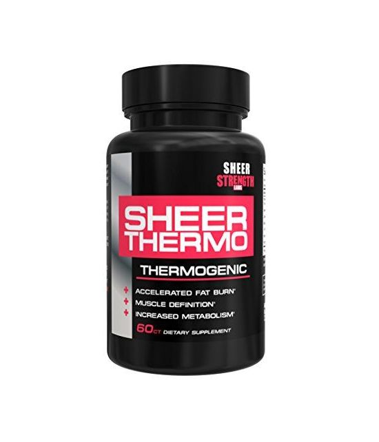 Sheer Thermo Fat Burner, 60 capsules.