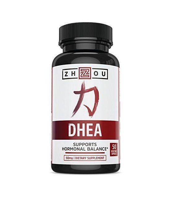 Supplément DHEA 50 mg.