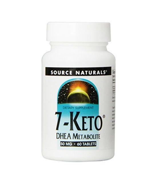 Source Naturals, complément anti-âge, 7-keto 50mg