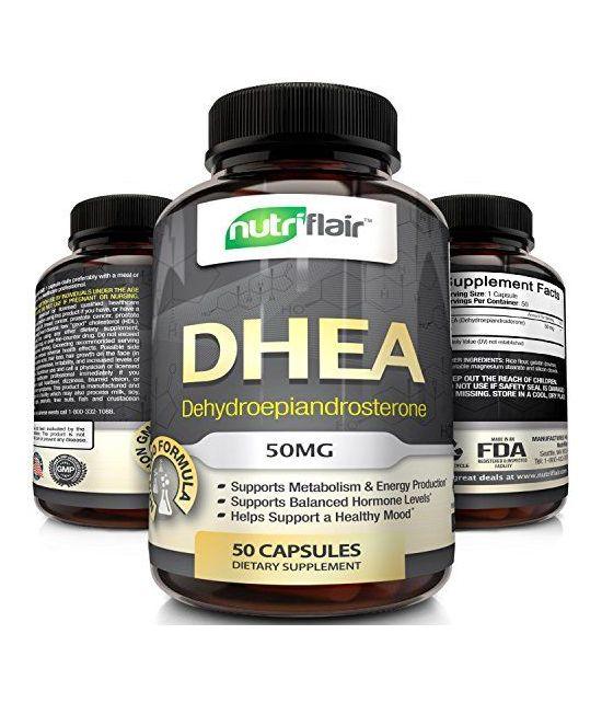NutriFlair 50 mg (50 capsules).