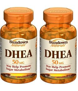 Sundown Naturals DHEA 50 mg (paquet de 2).