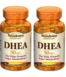 Sundown Naturals DHEA 50 mg (paquet de 2).