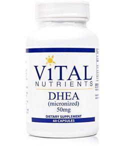 Vital Nutrients - DHEA (Micronisé) 50 mg –