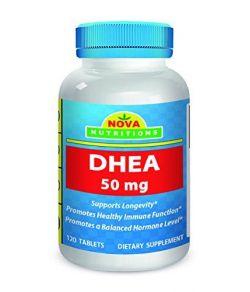 Nova Nutritions DHEA 50 mg.