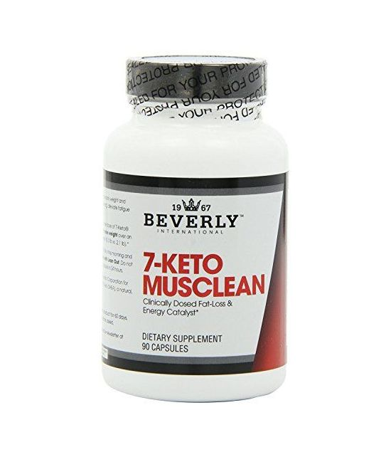 Beverly International 7 Keto Musclean, 90 Capsules