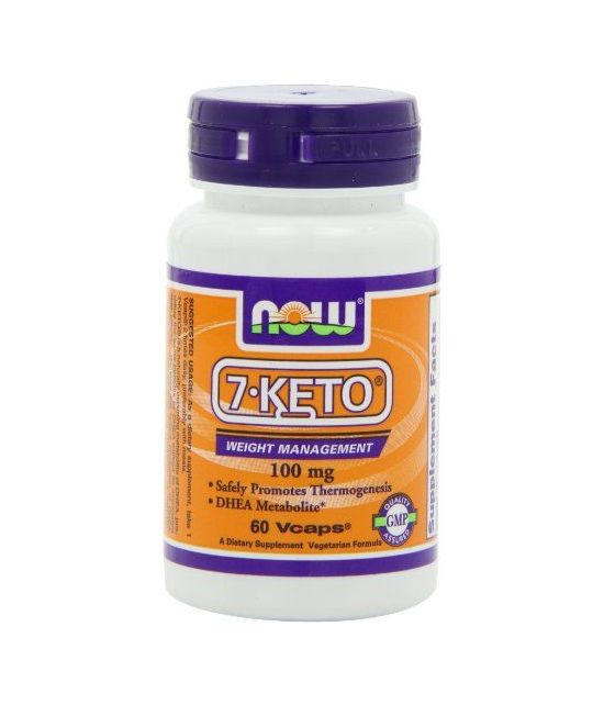 NOW 7-KETO 100 mg,60 Capsules.