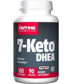 Jarrow Formules 7-Keto DHEA, 100 mg, 90 capsules.