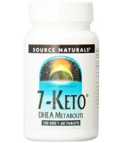 Source Naturals 7-Keto DHEA Metabolite 100mg