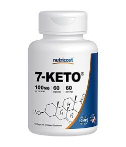 Nutricost 7-Keto 100mg- 60 Capsules