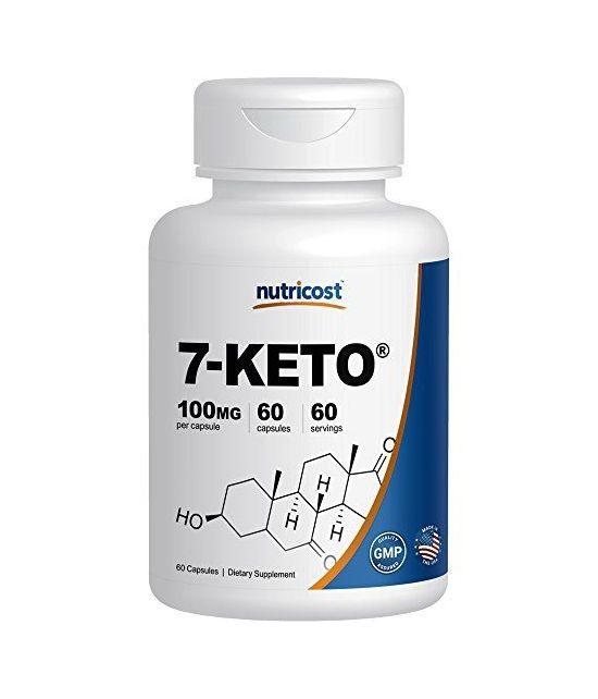 Nutricost 7-Keto 100mg- 60 Capsules