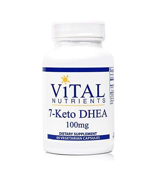 Vital Nutrients - 7-Keto DHEA 100 mg - 60 Capsules