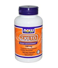 7-Keto 100mg 120 capsules ( pack de 2)