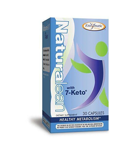 Thérapie par voie enzymatique Naturalean avec 7-Keto.