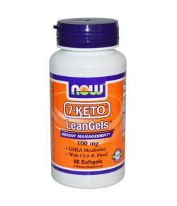 NOW 7-KETO LeanGels 100 mg,60 capsules.