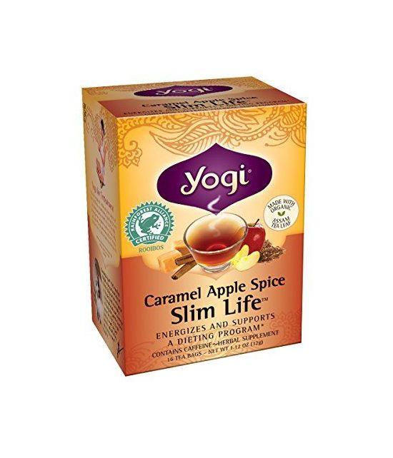 Yogi à la pomme, au caramel et aux épices -thé amincissant-