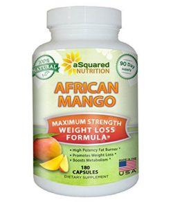 100% Pur extrait de mangue African (180 Capsules)