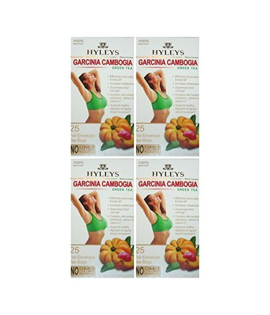 Hyleys 100% naturel Thé amincissant. PACK DE 4.