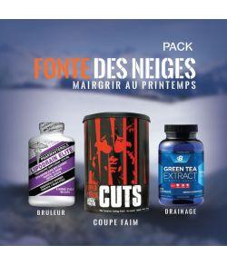 PACK FONTE DES NEIGES - 3 produits complémentaires pour assurer les beaux jours.