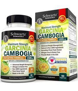 Supplément brûleur de graisse, Garcinia Cambogia.