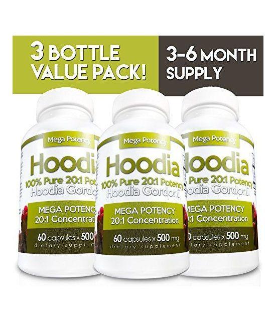 Hoodia Gordonii – pack de 3 bouteilles-