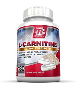 BRI Nutrition L-Carnitine, 1000 mg par portion.