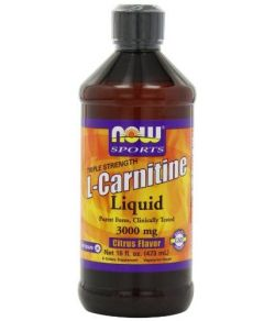 L-Carnitine Liquide 3000 mg, Citrus.