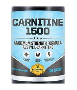 Acétyle L-Carnitine 1500mg par portion.