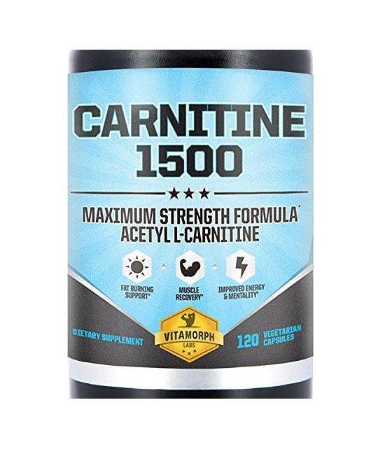 Acétyle L-Carnitine 1500mg par portion.