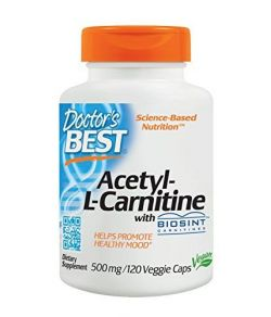 Doctor's Best Acetyl-L-Carnitine 500mg.