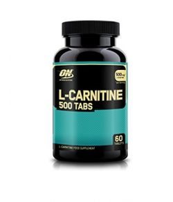 Nutrition Optimale L-Carnitine 500mg, 60 Comprimés.