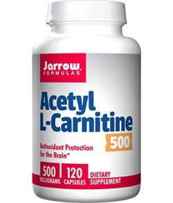 Jarrow Formulas Acétyle L-Carnitine 500 mg.