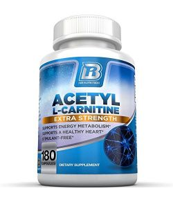 BRI Nutrition Acétyl l-Carnitine 500mg par portion.