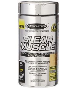 MuscleTech Clear Muscle, 168 Capsules.