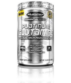MuscleTech 100% Ultra-Pure L-Glutamine.