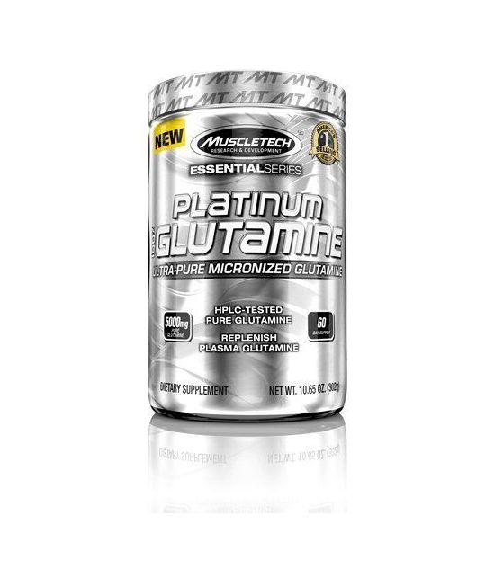 MuscleTech 100% Ultra-Pure L-Glutamine.