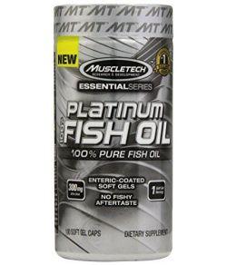 MuscleTech Platinum, huile de poisson oméga 3.