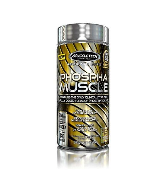 MuscleTech Phospha Muscle, formule d'acide phosphate.