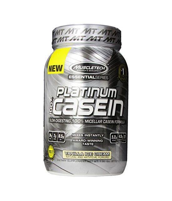 MuscleTech Platinum 100% Caséine.