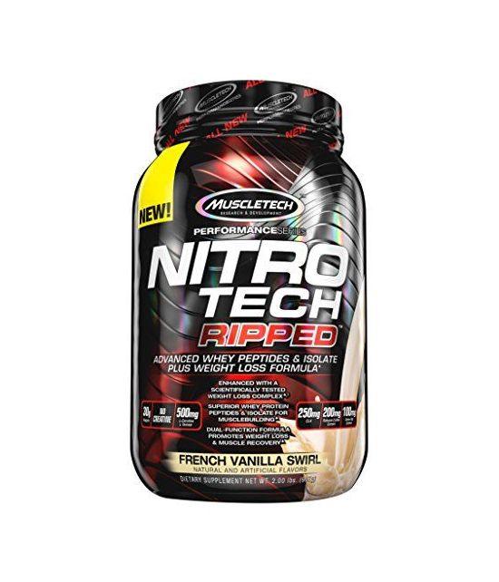 Nitro Tech Protéine Whey (900 gr).