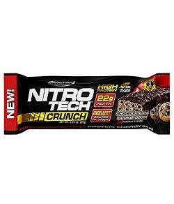 Barres de Protéines MuscleTech NitroTech Crunch.