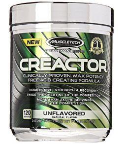 Creator MuscleTech, poudre de créatine (300g)