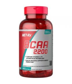 MET-Rx BCAA 2200 Dietary Supplement 180 count