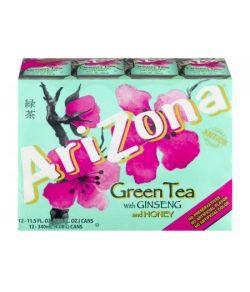 AriZona Thé vert avec le ginseng et miel - 12 PK 11.5 FL OZ