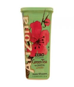 AriZona Thé de thé vert avec Ginseng 17 oz (paquet de 12)
